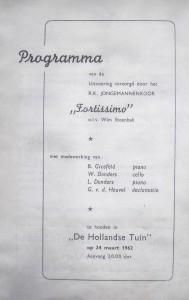 Jaarconcert 1962